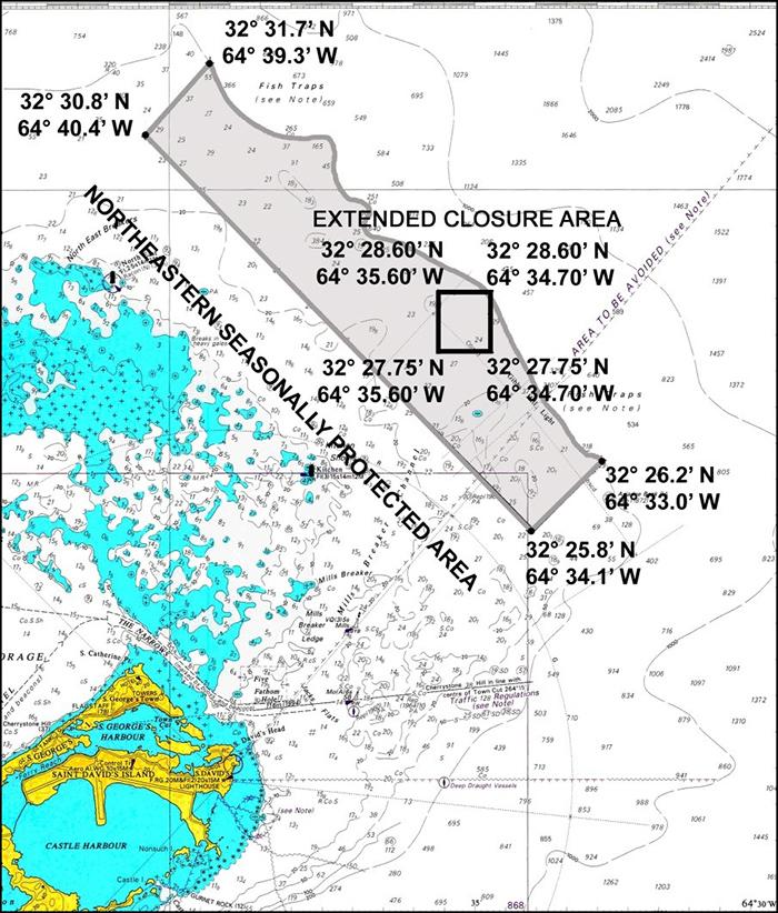 Fisheries Northeastern seasonally protected area